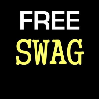free hoodie - more free swag to come
