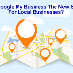 Google My Business may be the new SEO for local businesses and small businesses image shows map and text of the same